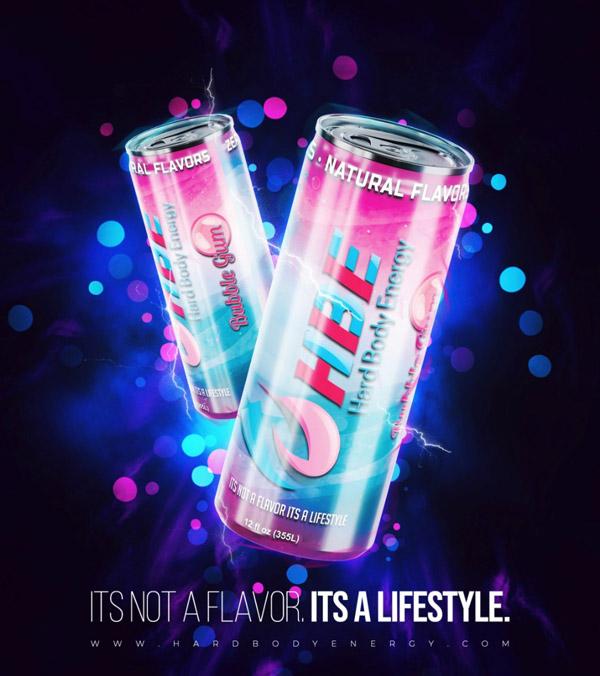 HardBody Energy Drink Flavor