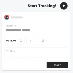 start tracking